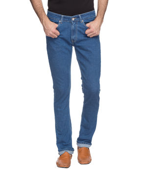 Regular Low Rise Narrow Fit Jeans, 32,  light blue