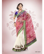 Touch Trends Patola Jaquard Designer Sarees - 246_ C, Multicolor
