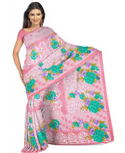 Designer Art Silk Saree With Unstitched Blouse - 28733-PK, Pink