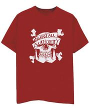 Champu Against All Authority Men's T-Shirt CHMP_ MT_ 256, Red, S