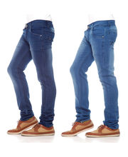 Poaster Pack Of 2 Men Denim Jeans - PL-JEN-08_ 06, Blue, 32