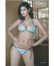 Flavia Honeymoon Queen Two Piece Set (Blue)