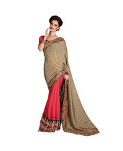 Hypnotex Jacquard Bhagalpuri Checks Pallu Saree - Autograph 1703, Multicolor