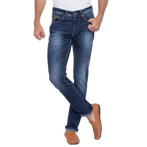 Slim Low Rise Narrow Fit Jeans, 32,  dark blue