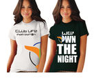 Gabi Life Club Life & We Own The Night -T-Shirt, multicolor, s