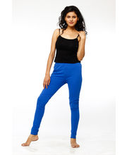 French Trendz Ankle Length Legging - LGALCTSD1, Royal Blue, Xxl