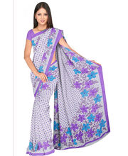 Designer Art Silk Saree With Unstitched Blouse - 29515-BL, Blue
