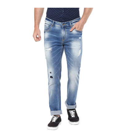 Skinny Low Rise Narrow Fit Jeans, 34,  blue