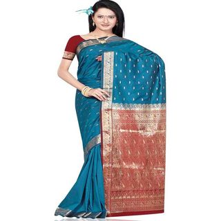 Beautiful Silk Saree 275 (Multicolor)