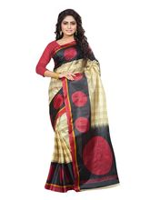 Ambaji Printed Silk Saree, design3
