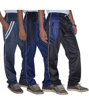 American Derby Pack Of 3 Track Pants- D7-TP-017-018-019, Multicolor