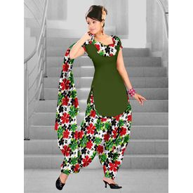 Delhiseven Patiala dress material-D7-USU-06, light green