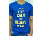 Keep Calm Delhi Daredevils Cotton T-Shirt - RCMT 7005, navy, s