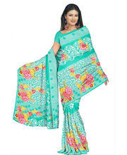Designer Art Silk Saree With Unstitched Blouse - 28733-GR, Green
