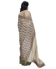 Fav Diva Khadi Cotton Saree, Multicolor
