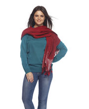 MTG Shawls & Stoles For Women - D7-STL-34, red