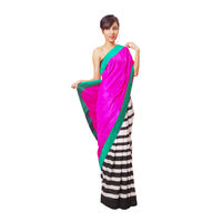Vamika Satin & Art Silk Saree, multicolor