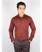Brand New Stori Shirt for Men - NOS-M-093, maroon,...