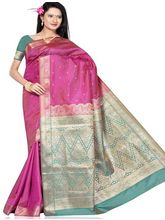 Beautiful Silk Saree 281 (Multicolor)
