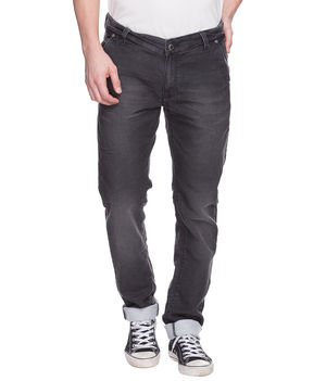 Slim Low Rise Narrow Fit Jeans,  black, 30