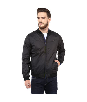 Regular Solid Jacket, m,  black