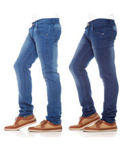 Poaster Pack Of 2 Men Denim Jeans - PL-JEN-07_ 06, Blue, 34