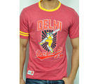 Hookster Delhi Daredevils Cotton T-Shirt - RCMT 5006, wine, m