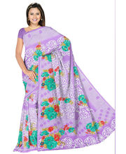 Designer Art Silk Saree With Unstitched Blouse - 28733-PR, Purple