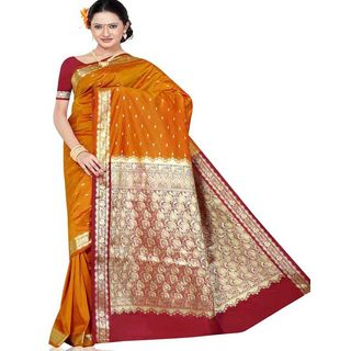 Beautiful Silk Saree 283 (Multicolor)