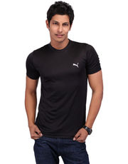 Puma Team-Essential-Black Tee - 50928102