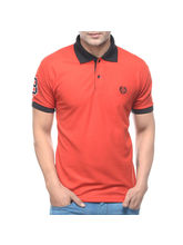 Amaira Men Muscle Fit Polo T-Shirt, l, design6