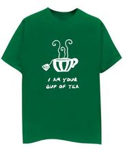 Champu I Am Your Cup Of Tea Men's T-Shirt CHMP_ MT_ 53, Green, M