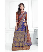 Hypnotex Cotton Designer Lengha Choli XLNC8009C, Multicolor
