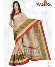 Vamika Bhagalpuri Silk Saree, Design 6