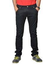 Fungus Stylish Denim Jeans FC-010, Black, 30
