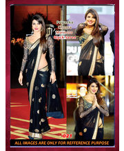 Bollywood Replica Priyanka Chopra Net Saree By Ragini Sarees, Multicolor