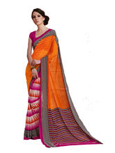 Good Karma Georgette Sarees - SULT50027, multicolor