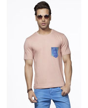 Do U Speak Green Earthy Joy Mens Organic Tshirt - DUSG184R, Pink, M