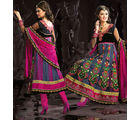 Gorgeous Attractive Churidar Kameez Set SSD1212, multicolor