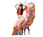 Vamika printed Georgette saree-VMS0101, multicolor
