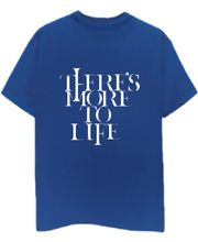 Champu More To Life Men's T-Shirt CHMP_ MT_ 422, Blue, M