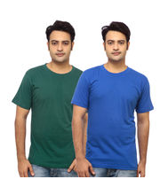 Delhi seven Round Neck T-shirt (Pack of 2) -...