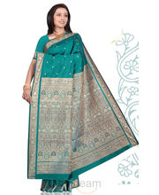Beautiful Green Silk Saree