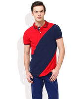 MONTEIL AND MUNERO Summer Cool Colour-Block Polo T-Shirt