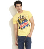Free Authority The Big Bang Bazinga Tee, yellow, m