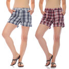 Mind The Gap Pack of 2 Hot Shorts-SFC-7061_ 7062, multicolor, 28