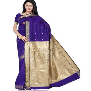 Beautiful Silk Saree 282 (Multicolor)