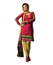 Fabdeal Pure Cotton Unstitched Salwar Suit(CLO203562AMA), Multicolor