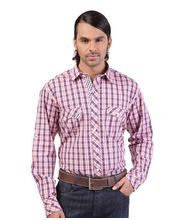 Yepme Stylish Check Shirt YPMSHRT0141, Blue, 42