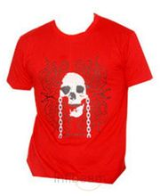 Fungus Round Neck Red Tshirt (Red, L)